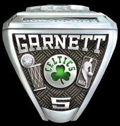 2008 Boston Celtics Ring