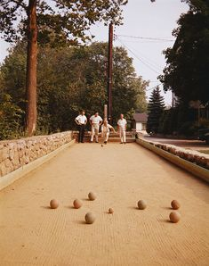 who needs a driveway when you can have your own Bocce court. Backyard Playground, Backyard Games, Outdoor Games, Bocce Ball Court, Architecture Jobs, Outside Games, Lush, Landscaping Jobs, South Of France