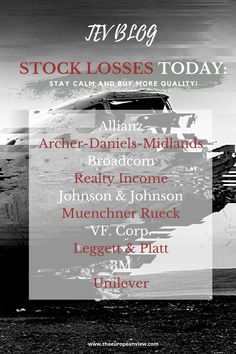 The one or the other stock may have suffered losses again today. While one might think that this is normal, some investors are losing their nerve. But panic is entirely wrong now. I will explain in the article what you should do instead. Leggett And Platt, Johnson And Johnson, Stay Calm, Investors, Stock Market, Wisdom, Marketing, Keep Calm, Keep Clam