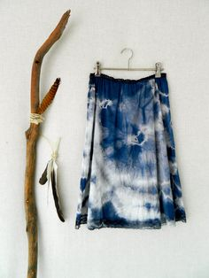 MIDNIGHT MUSE . women's tie dye skirt . size 14 by bohemianbabes
