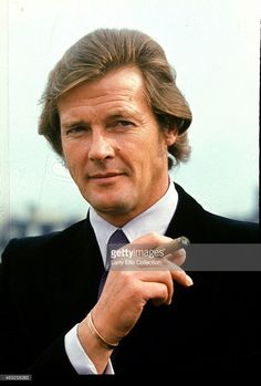 Starring as Lord Brett Sinclair in the television series 'The Persuaders!', 1971.