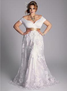 IGIGI Plus Size Eugenia Vintage Wedding Gown Promo Price: $570.00