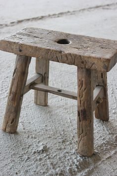Driftwood Furniture, Driftwood Lamp, Home Decor Furniture, Rustic Furniture, Rustic Stools, Milking Stool, Wood Stool, Old Chairs, Old Wood