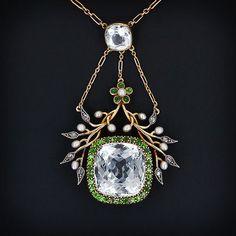 russian pearl and garnet jewelry - Google Search