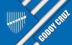 Godoy Cruz of Argentina wallpaper. Football Wallpaper, Sports Wallpapers, Material Design, Football Players, Hd Wallpaper, Division, Logos, Pictures, Burns