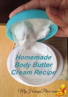 DIY Homemade Body Butter Cream