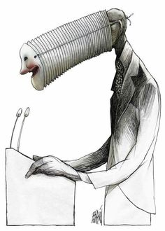 The wordless, surreal and very Cuban satire of Angel Boligán Pictures With Deep Meaning, Art With Meaning, Art Sketches, Art Drawings, Satirical Illustrations, Meaningful Pictures, Meaningful Paintings, Deep Art, Social Art