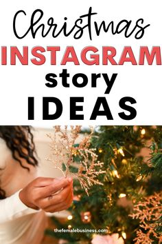 Merry Christmas Instagram stories to share. Creative and cute Instagram story ideas to post