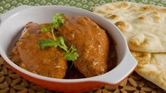 Butter Chicken - Recipes - Best Recipes Ever - Re-create this rich, velvety, Indian restaurant favourite at home. Serve with pappadams. These crisp savoury crackers are available in supermarkets and South Asian grocery stores. Indian Food Recipes, Asian Recipes, Healthy Recipes, Healthy Food, Turkey Recipes, Chicken Recipes, Food Network Recipes, Cooking Recipes, Asian Grocery