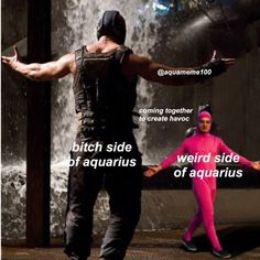 Aquarius Funny, Pisces And Aquarius, Aquarius Tattoo, Aquarius Traits, Aquarius Quotes, Virgo Memes, Zodiac Memes, Zodiac Signs Astrology, Zodiac Signs Aquarius