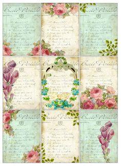 Sheet Roses | Sheets | Nostalgie & Brocante