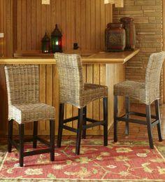 Create your own cozy cabana with Pier 1 Kubu Barstools