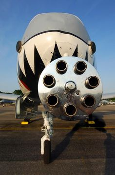 The working end of an A-10
