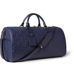 Loewe - Embossed Leather Duffle Bag|MR PORTER