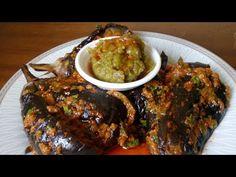 سوف تعشق البذنجان بعد معرفتك هذه الطريقة لطهيه - YouTube Lebanese Recipes, Eggplant Recipes, Arabic Food, Yams, Low Carb Recipes, Easy Recipes, Meatloaf, Food Hacks, Easy Meals