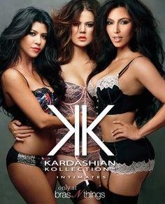 Kardashian Kollection Intimates Ad Campaign at Bras N Things in Australia and N'Z Kardashian Kollection, Kardashian Style, Kardashian Jenner, Kourtney Kardashian, Fashion Images, Fashion Pictures, All The Kardashians, Long Hair Cut Short, Jenner Family