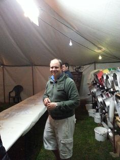 My first year helping out behind the bar at http://www.wickenbeerfestival.co.uk