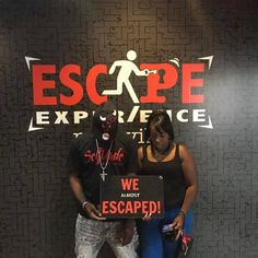 Don't be too hard on yourself if you don't escape. We're all about second chances at the Escape Experience so there's always next time.