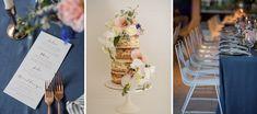 Real Wedding – Suzi & Elliot - Reception Styling - Wedding Cake - Tablescape