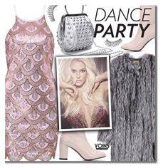 Yoins Dance Party! by beebeely-look on Polyvore featuring moda, The Row, Trish McEvoy, Britney Spears, NewYears, partydress, danceparty, yoinscollection and Dressunder50