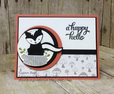 Stamping Inferno: Foxy Friends for What Will You Stamp? | Foxy Friends #WWYS75