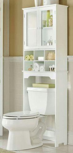 24 Trendy Bathroom Storage Cabinet Over Toilet Fit Small Bathroom Cabinets, Zen Bathroom, Small Bathroom Storage, Bathroom Design Small, Bathroom Interior Design, Bathroom Furniture, Parisian Bathroom, Small Cabinet, Bathroom Organization