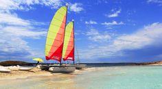 Sailboats. Ibiza