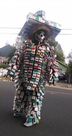cigarette pack costume