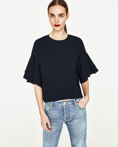 34e4eff7b8bb1 FRILLED TOP - TOPS-SALE-WOMAN