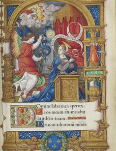 Book of Hours opulently illuminated for King François I of France by the Master of François de Rohan