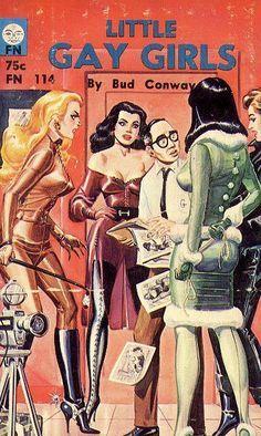 Vintage sleaze and pulp erotica by prolific fetish illustrator Eric Stanton… Vintage Book Covers, Vintage Books, Eric Stanton, Vintage Lesbian, Crime, Pulp Fiction Book, Pulp Magazine, Up Book, Pulp Art