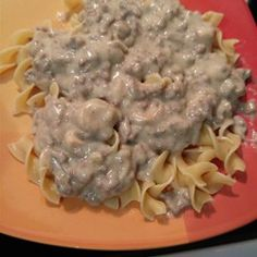 Quick and Easy Hamburger Stroganoff - Allrecipes.com
