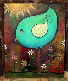 001- adorable little bird