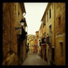 Calles de Biar. Preciosas callejuelas para pasearse.