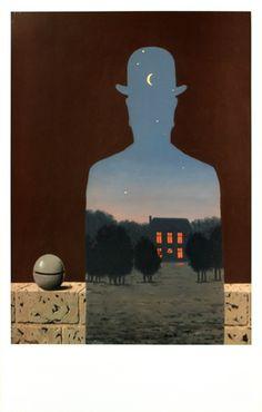 """""""L'heureux Donateur"""" - René Magritte"""