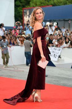 Diane Kruger en robe Boss sur-mesure à la Mostra de Venise