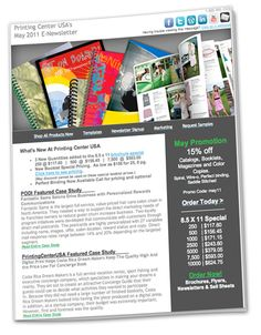Sign up for our Monthly Newsletter. Case Studies, Articles and How to's and Printing Examples.