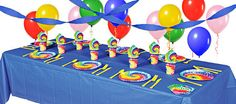 60s Tie Dye Party Supplies - 60s Party Theme - Party City