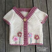 Ravelry: Flower Garden Cardigan pattern by Lisa van Klaveren