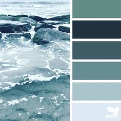 today's inspiration image for { color sea } is by @suertj ... thank you, Sue, for another wonderful #SeedsColor image share!