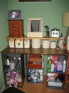 my home made vanity