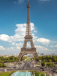 France's iron lady, the Eiffel Tower, is one of the most visited monuments in the world. Plan your visit to Paris: http://ba.uk/bkUl3h © naibank / Getty Images.