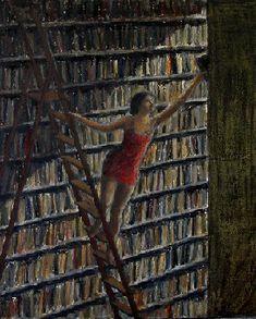 Miháy Bodó, Eva en la biblioteca