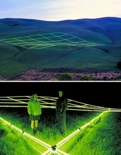 "Artist Stuart Wiliams, who raised nearly half a million dollars to create the installation, says ""I see the project as a poetic statement on the potential harmony between #technology and #nature."""