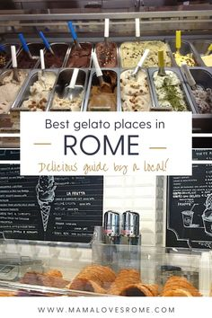 Looking for the best gelato in Rome? This guide is for you! Written by a local, it has the best gelato places in Rome city center for a delicious break while sightseeing! The only question is cono or coppetta (Cone or cup?)