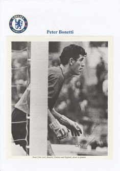 Peter Bonetti, Chelsea Football, Baseball Cards, Cats, Sports, Movie Posters, Hs Sports, Gatos, Kitty Cats