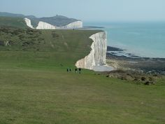 White cliffs of Seven Sisters County Park, Sussex, UK by Csaba Molnar, PhD on 500px