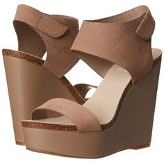 Vince Camuto Kaja Women's Wedge Shoes ($129) ❤ liked on Polyvore featuring shoes, sandals, tauplicious, vince camuto shoes, velcro shoes, wedge heel sandals, platform wedge shoes and wedge heel shoes