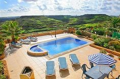 This recently converted 4 bedroom holiday villa offers fantastic views of the Gozitan countryside and it is set in a quiet location in the village of Zebbug. Sleeps 8 people. │ #gozo gozovillarentals.com
