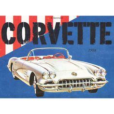 Chevrolet Corvette 500 Piece Jigsaw Puzzle